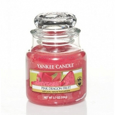 Pink Dragon Fruit Yankee Candle - mała świeca